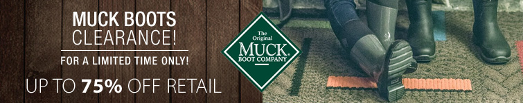 MuckBoot Clearance