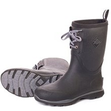 Muck Boots Mid Height Arctic Excursion Lace Mid Black