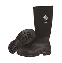 Muck Boots Mens the muck boot company mens chore boot high cut black