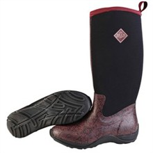 Muck Boots Womens Clearance Womens Arctic Adventure Maroon Aztec