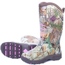 Womens Muck Hunting Boots Pursuit Stealth Realtree Xtra/Pink