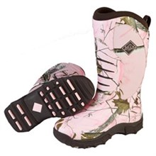 Womens Muck Hunting Boots pursuit stealth pink realtree acp