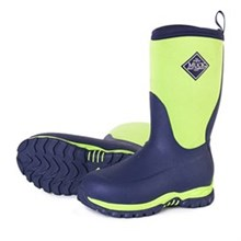 Green Muck Boots Youths Rugged II Navy/Green