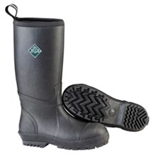 Muck Boots Final Sale mens chore resistant tall steel toe black